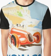 Grand Prix Monaco 1937 Graphic T-Shirt