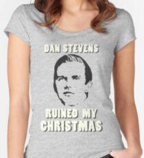 Dan Stevens Ruined Christmas Women's Fitted Scoop T-Shirt