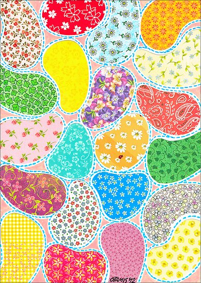 COMPOSITION OF CUT SHEETS AND DECORATIVE PAPER by RainbowArt