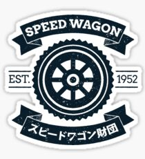 SPW - Speed Wagon Foundation [Navy] Sticker