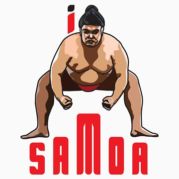 I LOVE SAMOA T-shirt by ethnographics
