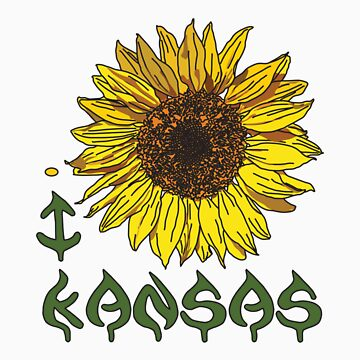 I LOVE KANSAS T-shirt by ethnographics