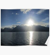 Mountain Sunbeam Poster