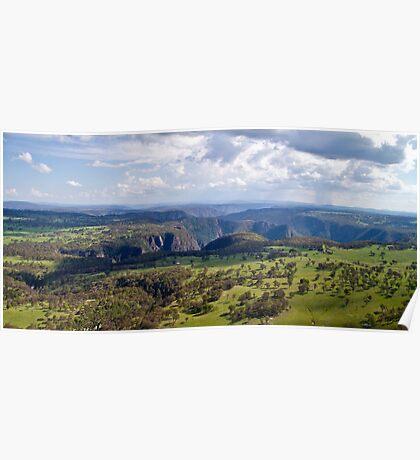 Wollomombi Falls Gorge Poster