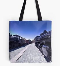 Steam Engines Pano Tote Bag