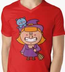 Witch Men's V-Neck T-Shirt