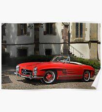 Mercedes 300 SL Roadster 1957 #1 Poster