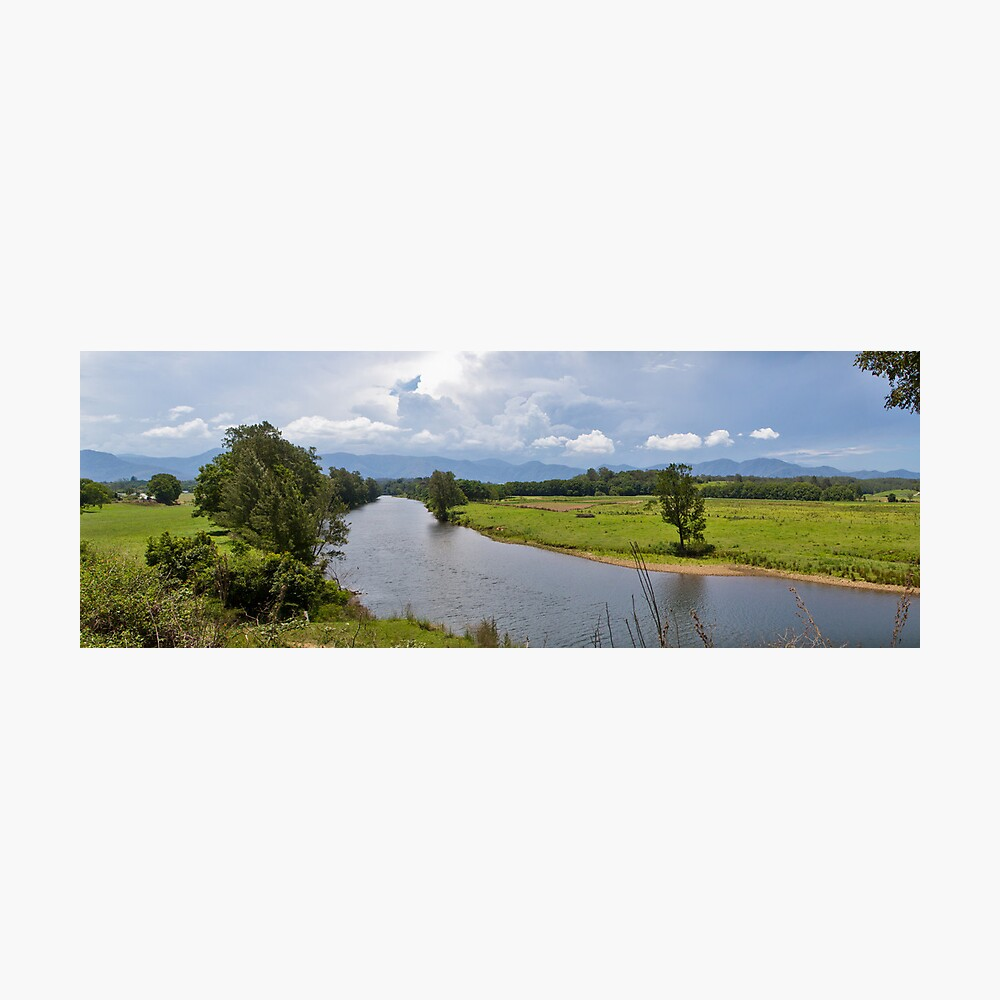 The River Photographic Print