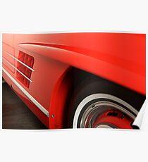 Mercedes 300 SL Roadster 1957 #2 Poster