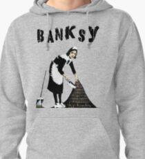 Banksy: Sweeping Under The Rug Pullover Hoodie