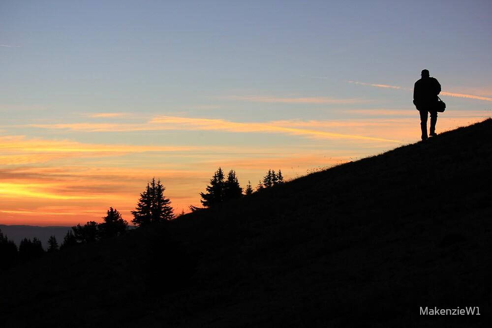 Hiking at Sunrise by MakenzieW1