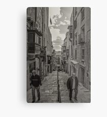 Pedestrians Metal Print