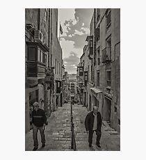 Pedestrians Photographic Print