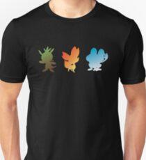 Pokemon X & Y Starters  T-Shirt