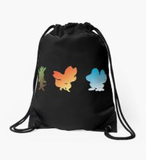 Pokemon X & Y Starters  Drawstring Bag