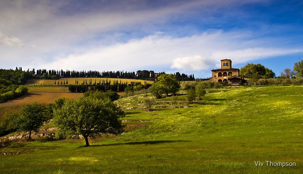 Farmhouse in Tuscany by vivsworld