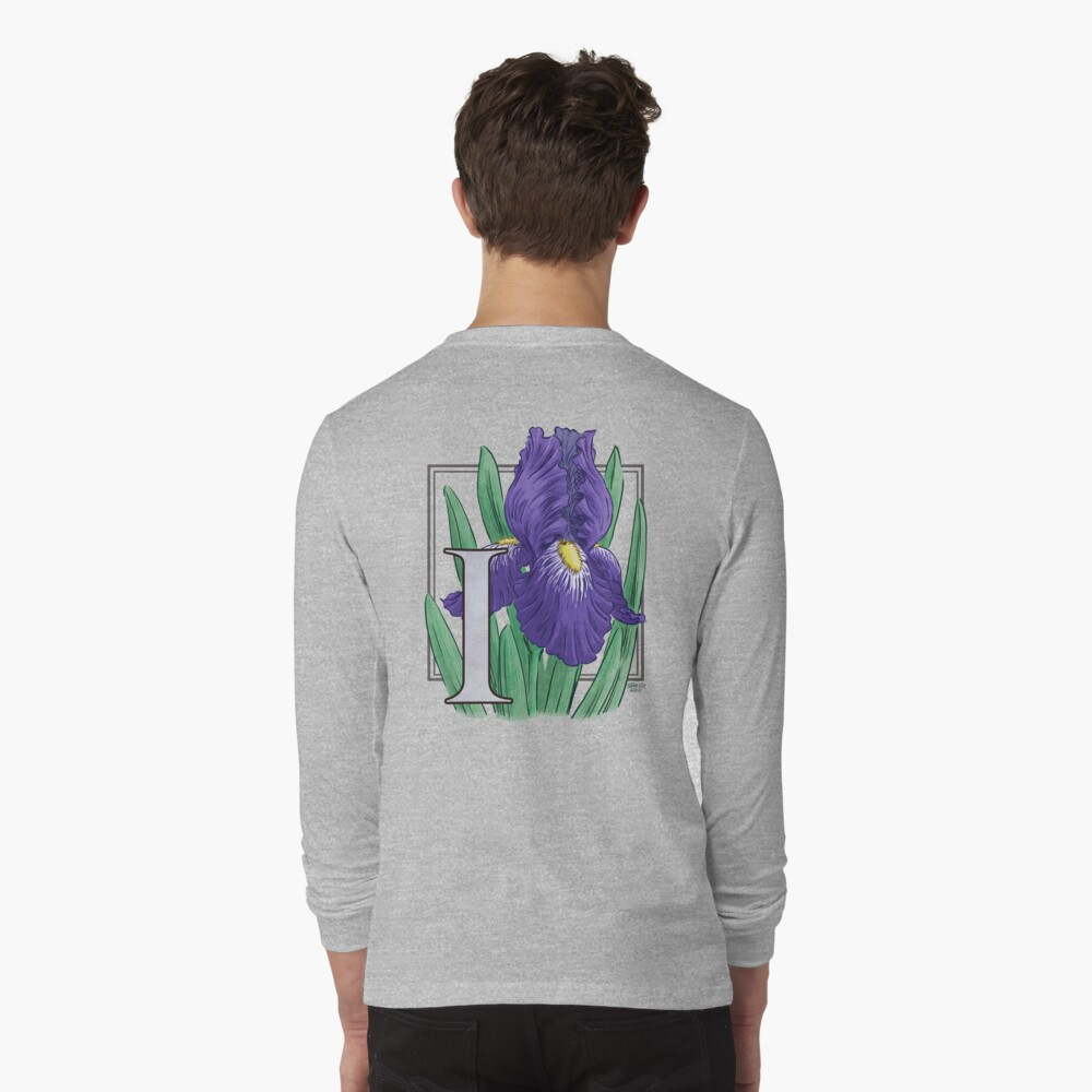 I is for Iris Long Sleeve T-Shirt