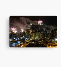 New Years Eve - Melbourne   Canvas Print