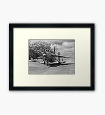English Electric Lightning aircraft Framed Print