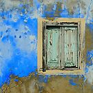 The blue window by mikeosbornphoto