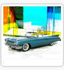 1960 Cadillac Convertible Sticker