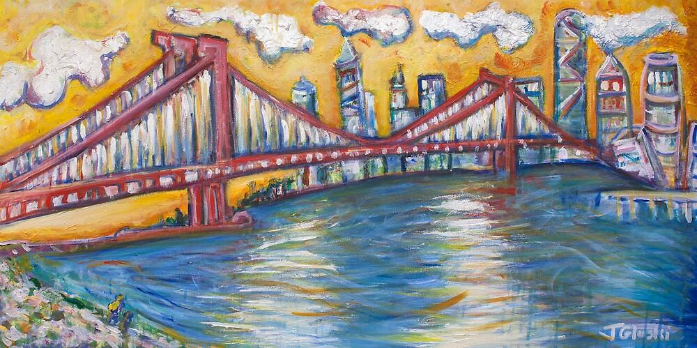 Manhattan Bridge - NYC by Jason Gluskin