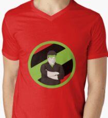The Goodman Mens V-Neck T-Shirt