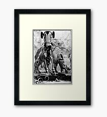 Car Thief 2. Framed Print