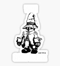 Vivi Says Relax - Monochrome White Sticker