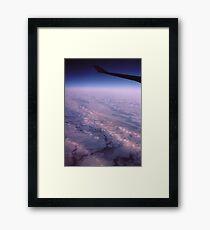 """"""" A Frozen World """" Framed Print"""