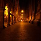 Street in Bologna by Pawel J