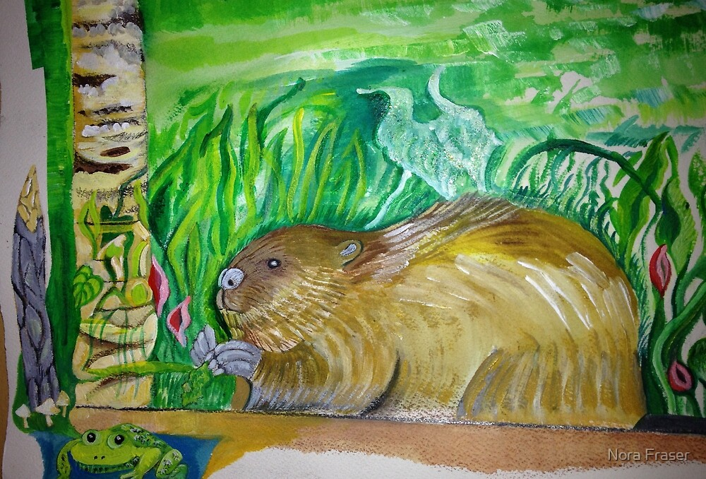 Beaver continued by Nora Fraser