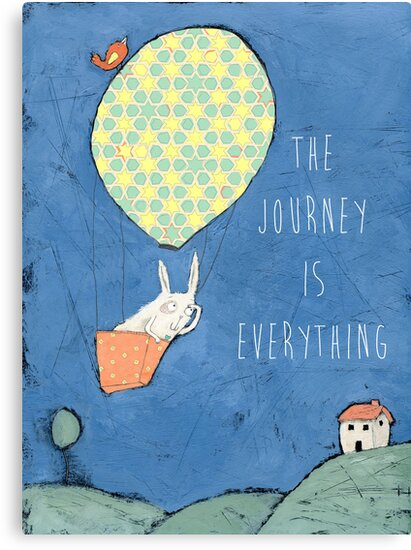 The Journey is Everything by Judi Bagnato