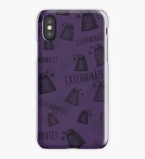 Daleks - Purple iPhone Case/Skin
