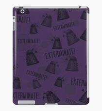 Daleks - Purple iPad Case/Skin
