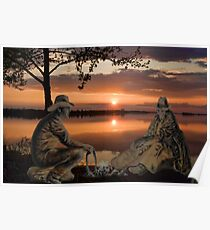 (◡‿◡✿) (◕‿◕✿) SUNSET COWBOYS PICTURE-PILLOW-TOTE BAGS- CELL PHONE COVERS ECT... (◡‿◡✿) (◕‿◕✿) Poster