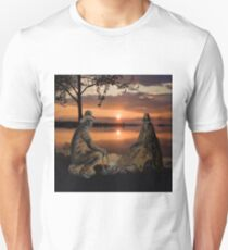 (◡‿◡✿) (◕‿◕✿) SUNSET COWBOYS PICTURE-PILLOW-TOTE BAGS- CELL PHONE COVERS ECT... (◡‿◡✿) (◕‿◕✿) T-Shirt