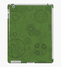 Gallifrey Pattern - Green Coque et skin iPad
