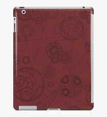Gallifrey Pattern - Red iPad Case/Skin