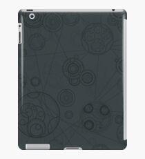 Gallifrey Pattern - Grey Coque et skin iPad