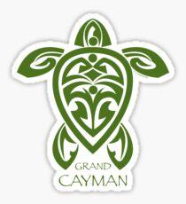 Grüne Stammesschildkröte / Grand Cayman Sticker