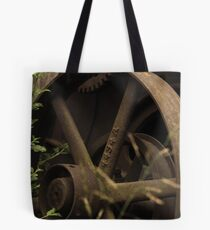 time past by Tote Bag