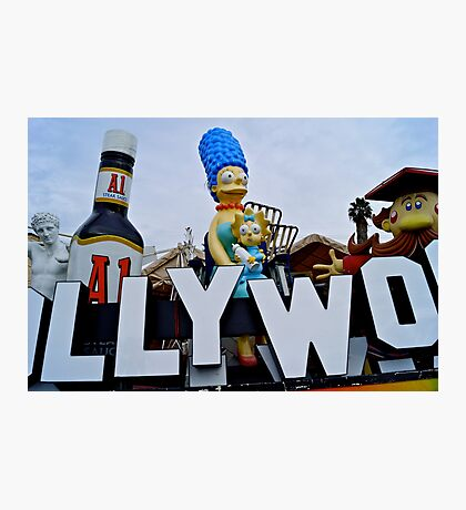 Hollywood Bigger Than Life Photographic Print