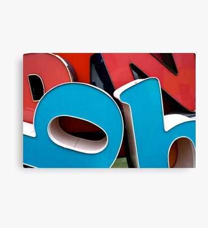 Big Plastic BB's Canvas Print