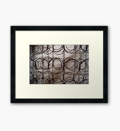 Rusty Springs Framed Print