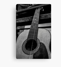 One stringed Passion Canvas Print