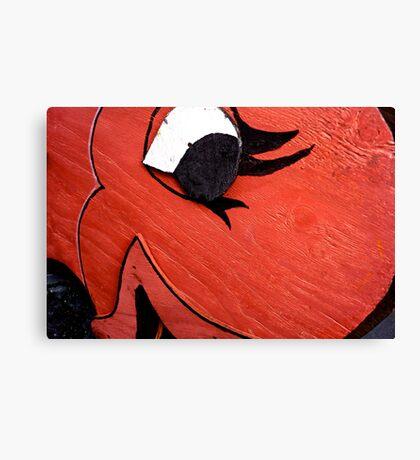 A Big Red Fish Canvas Print