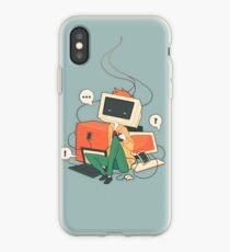 Cyber Kid iPhone Case