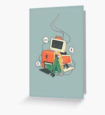 Cyber Kid Greeting Card
