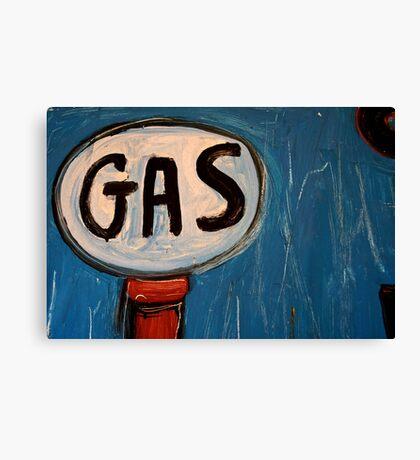 It's a Gas! Canvas Print